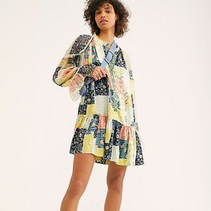 Free People Patch Made In Heaven Mini Dress Summer